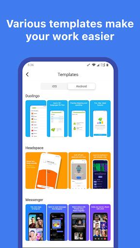 Mockup - App Screenshot Design tool - screenshot 6