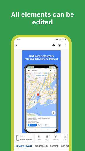 Mockup - App Screenshot Design tool - screenshot 1