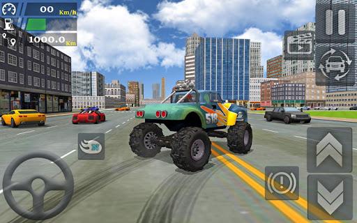 Monster Truck Stunts Driving Simulator - captura de ecrã 2