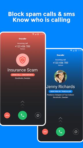 Truecaller: ID & spam block - Ảnh chụp màn hình 0
