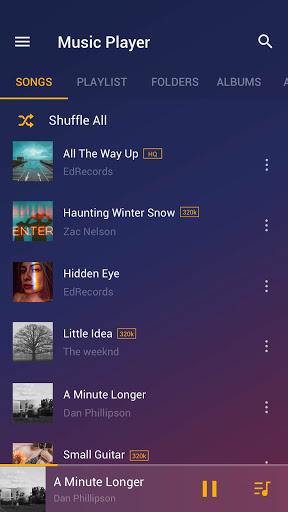 Music Player - MP3 Player, Audio Player - Ảnh chụp màn hình 0
