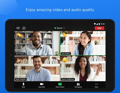 ZOOM Cloud Meetings - Ảnh chụp màn hình 8