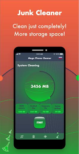 Mega Phone Cleaner - Clean & Boost - Ảnh chụp màn hình 2