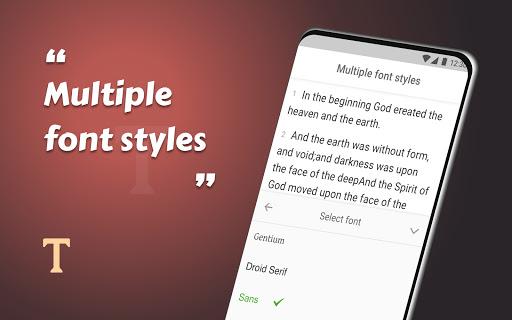 King James Bible (KJV) - Free Bible Verses + Audio - Ảnh chụp màn hình 7
