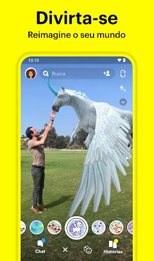 Snapchat - captura de ecrã 2