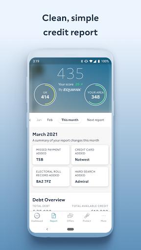 ClearScore - Check & Monitor Your Credit Score - Ảnh chụp màn hình 1