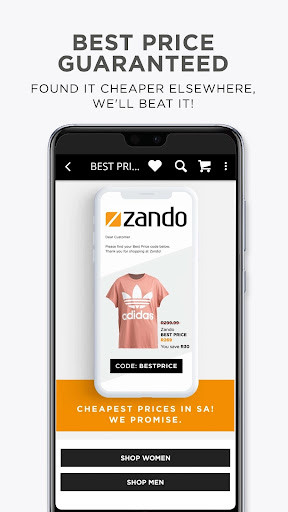Online Shopping - Fashion - Zando.co.za - Ảnh chụp màn hình 3