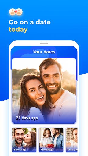 Dating with singles nearby - iHappy - Ảnh chụp màn hình 0