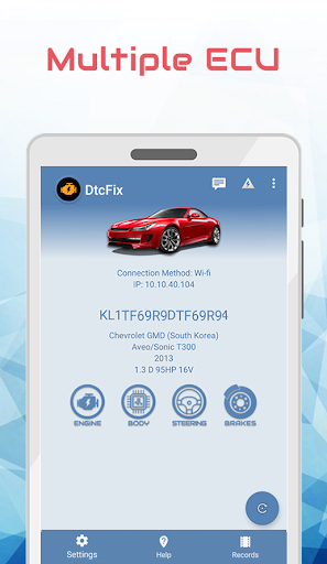 DtcFix - Wifi/Bluetooth Car Fault Code Diagnostic - screenshot 2