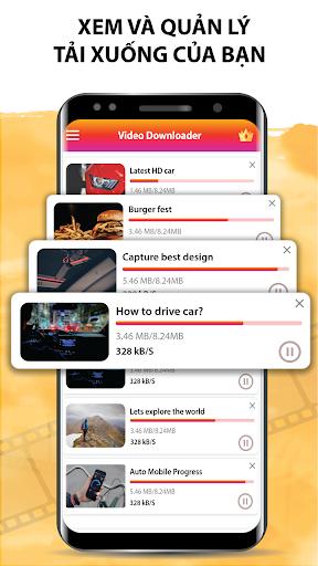 Tất Cả Các Video Trình Tải Xuống 2020 Tải Video HD - Ảnh chụp màn hình 6
