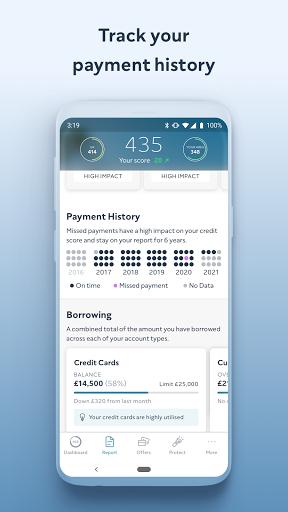 ClearScore - Check & Monitor Your Credit Score - Ảnh chụp màn hình 4