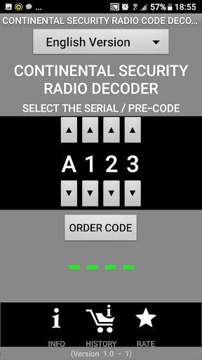 FiatContinental Brazil A123 Radio Code Decoder - captura de ecrã 0