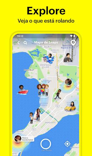Snapchat - captura de ecrã 5