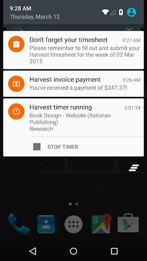 Harvest Time & Expense Tracker - captura de ecrã 3