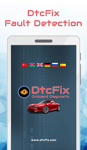 DtcFix - Wifi/Bluetooth Car Fault Code Diagnostic - screenshot 0