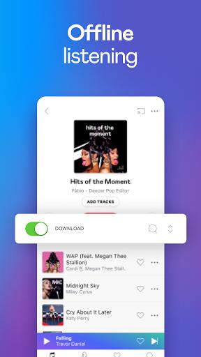 Deezer Music Player: Songs, Playlists & Podcasts - Ảnh chụp màn hình 2