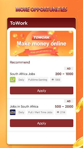 ToWork - check out jobs suit you - Ảnh chụp màn hình 2