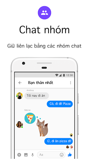 Messenger Lite: Nhắn tin & Gọi điện miễn phí - Ảnh chụp màn hình 3