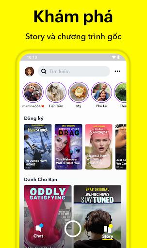 Snapchat - Ảnh chụp màn hình 3