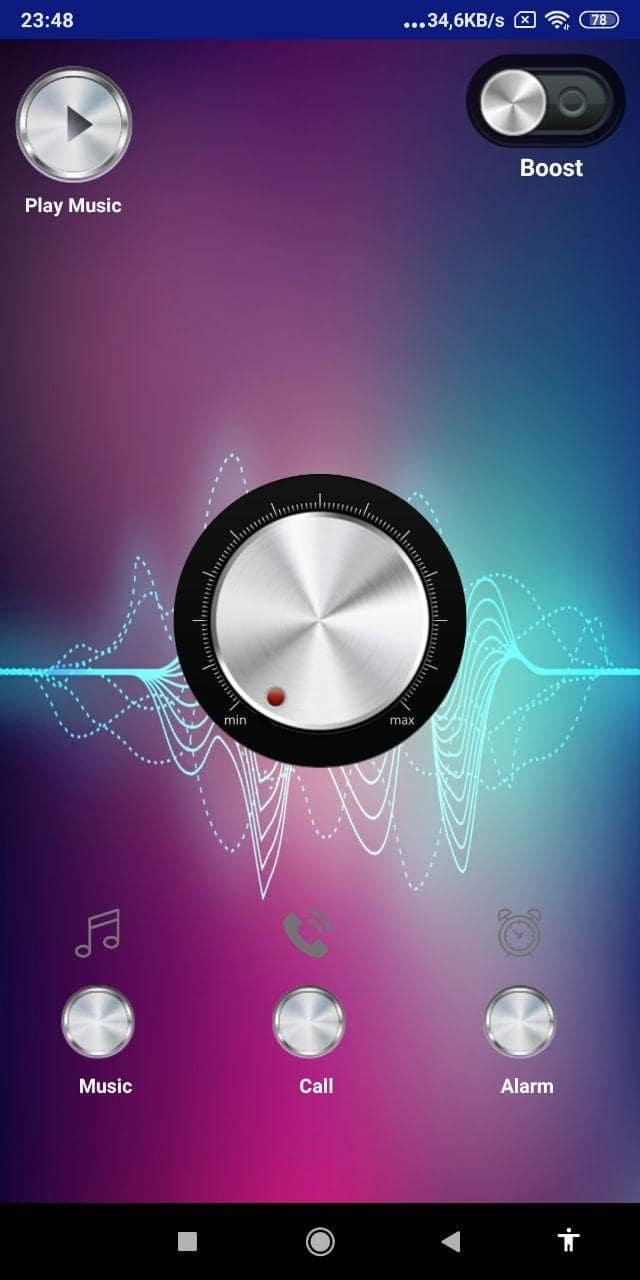 hoparlör ses yükseltici - Ekran görüntüsü 0
