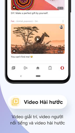 Trình duyệt web Opera Mini - Ảnh chụp màn hình 5