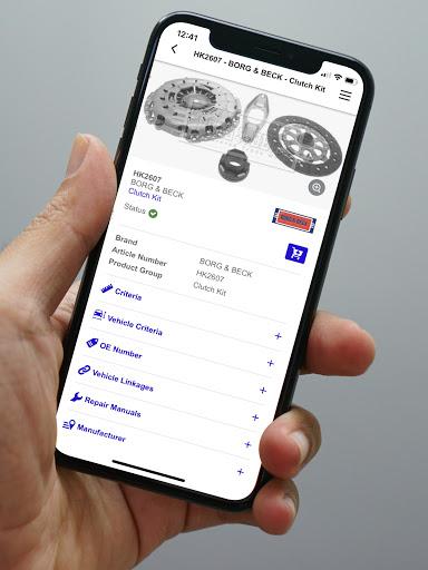 TecDoc Catalogue Mobile - captura de ecrã 7