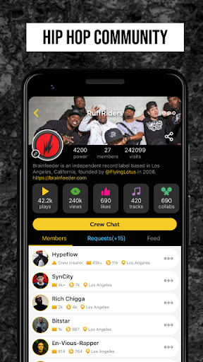 Rap Fame - Rap Music Studio with beats & vocal FX - Ảnh chụp màn hình 5