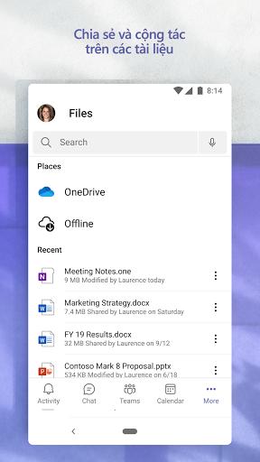 Microsoft Teams - Ảnh chụp màn hình 7