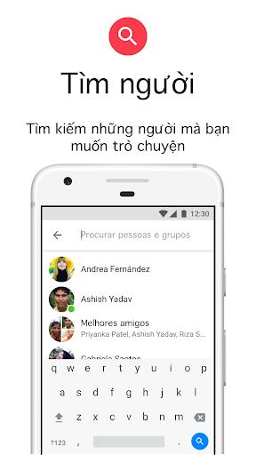 Messenger Lite: Nhắn tin & Gọi điện miễn phí - Ảnh chụp màn hình 6