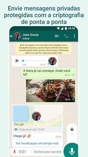 WhatsApp Messenger - captura de ecrã 1