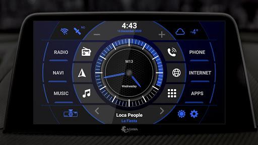 AGAMA Car Launcher - captura de ecrã 5