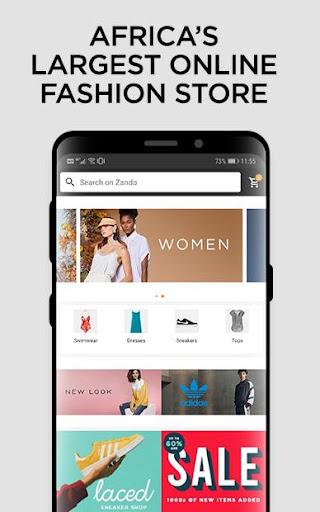 Online Shopping - Fashion - Zando.co.za - Ảnh chụp màn hình 0