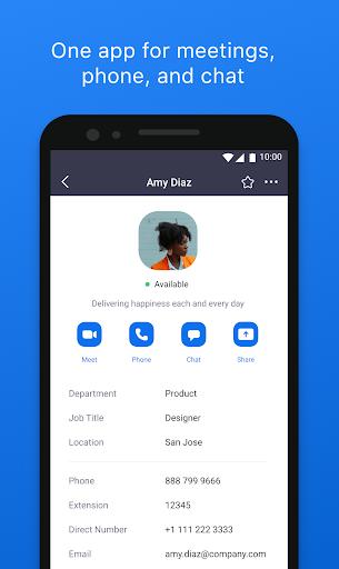 ZOOM Cloud Meetings - Ảnh chụp màn hình 0