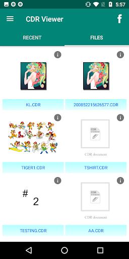 CDR File Viewer - captura de ecrã 2
