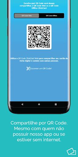 ClickCard - Cartão de Visita Digital e Interativo - captura de ecrã 2