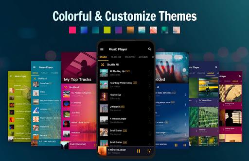 Music Player - MP3 Player, Audio Player - Ảnh chụp màn hình 3