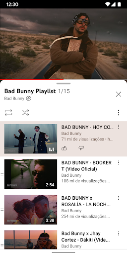 YouTube - captura de ecrã 2