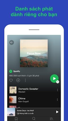 Spotify - Nghe nhạc hay, tìm podcast hữu ích - Ảnh chụp màn hình 4