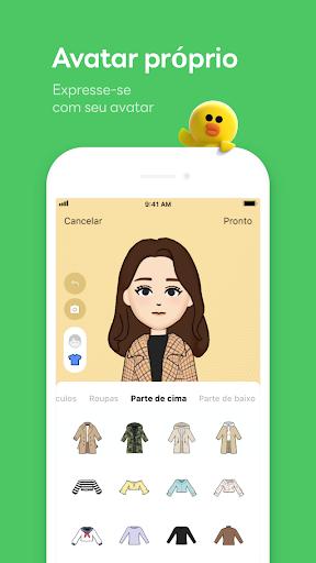 LINE:Chamadas&Mensagens Grátis - captura de ecrã 6