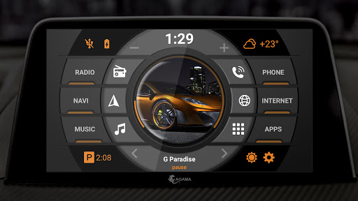 AGAMA Car Launcher - captura de ecrã 2
