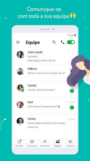 JivoChat - captura de ecrã 4