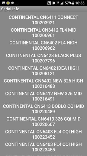 FiatContinental Brazil A123 Radio Code Decoder - captura de ecrã 2