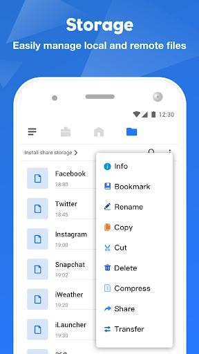 FileMaster: Quản lý tệp, truyền tệp - Ảnh chụp màn hình 3