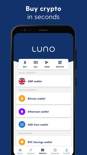 Luno: Buy Bitcoin, Ethereum and Cryptocurrency - Ảnh chụp màn hình 2