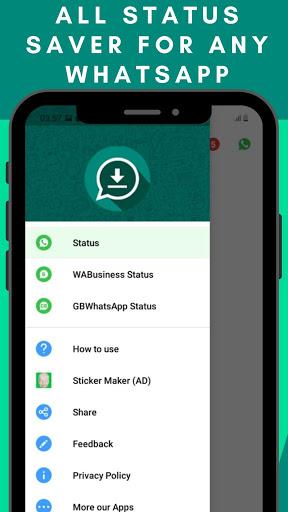 Status Saver - Trạng thái tải xuống cho Whatsapp - Ảnh chụp màn hình 9