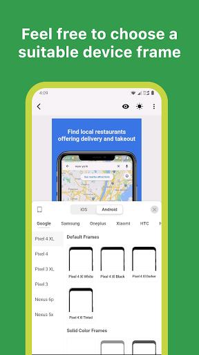 Mockup - App Screenshot Design tool - screenshot 3