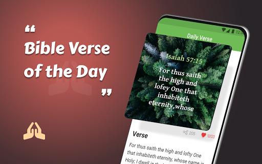 King James Bible (KJV) - Free Bible Verses + Audio - Ảnh chụp màn hình 0