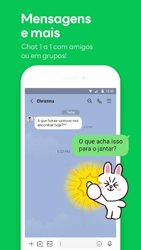 LINE:Chamadas&Mensagens Grátis - captura de ecrã 0