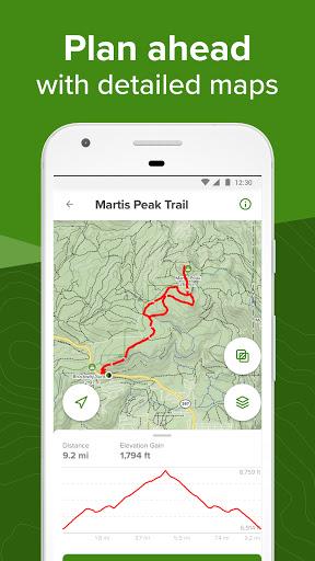 AllTrails: Hiking, Running & Mountain Bike Trails - Ảnh chụp màn hình 2