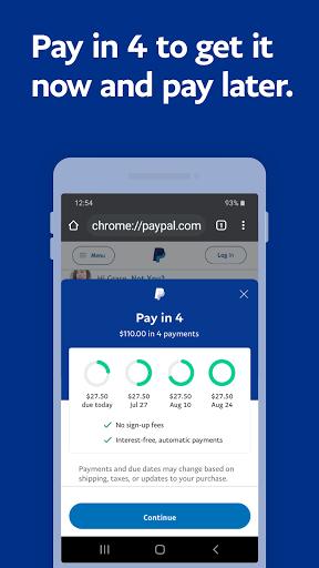 PayPal Mobile Cash: Send and Request Money Fast - Ảnh chụp màn hình 3
